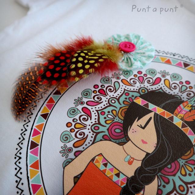 "Camiseta ""Pepetta Mandala"""