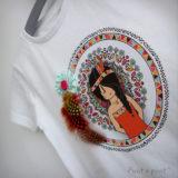 camiseta personalizada Pepetta mandala punt a punt