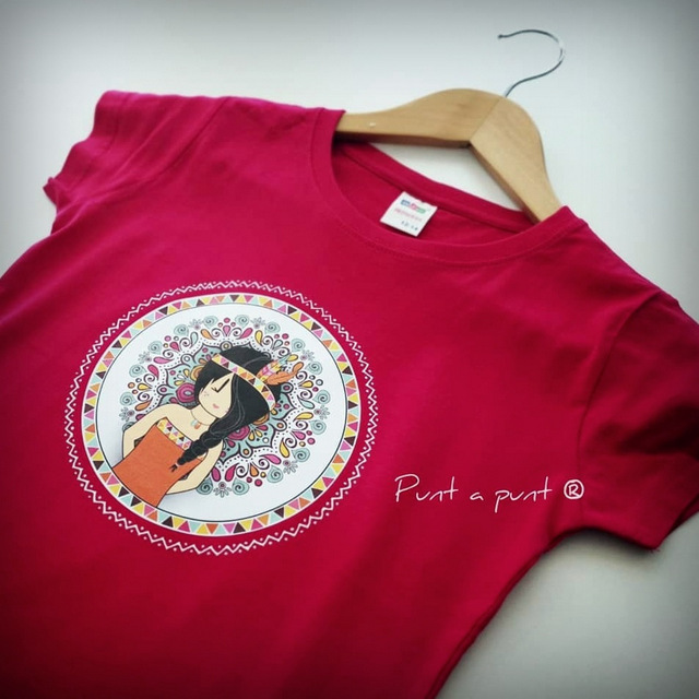 camiseta personalizada para chica mandala surtido punt a punt-006