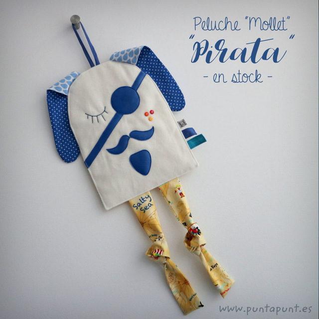 """Peluche infantil """"Mollet Pirata"""" – en stock"""