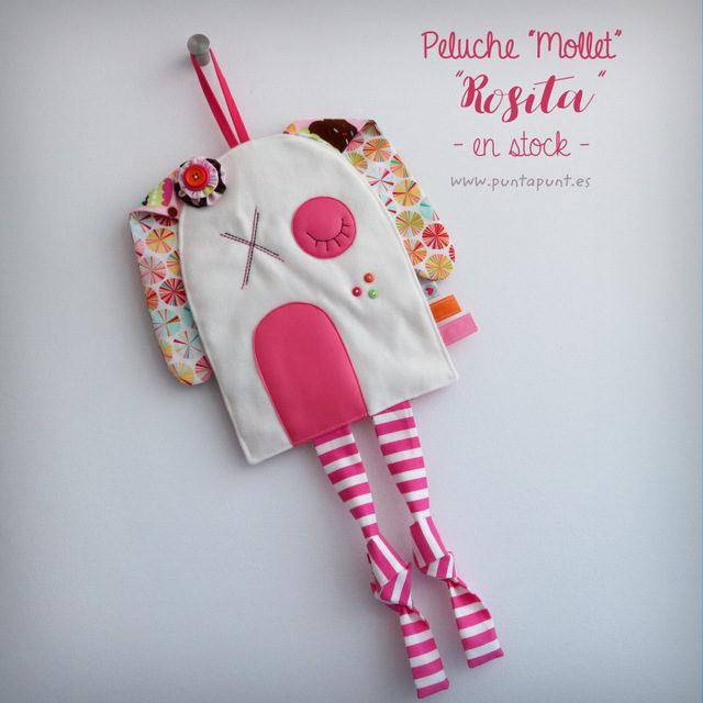 "Peluche infantil ""Mollet Rosita"" – en stock"