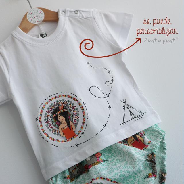set de camiseta y ranita bebe pepetta mandala punt a punt-002