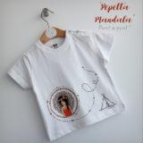 set de camiseta y ranita bebe pepetta mandala punt a punt-003