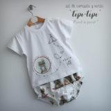 set de camiseta y ranita bebe tipi tipi pache punt a punt-002