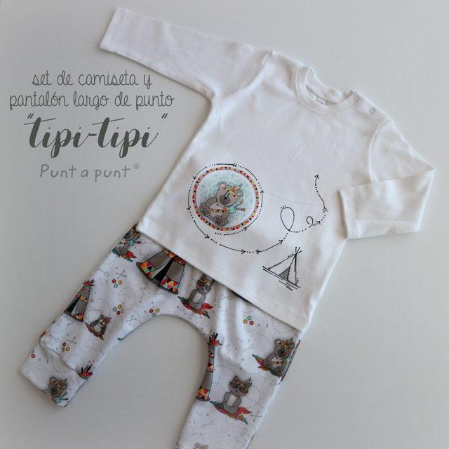 Sets de punto «Tipi-tipi» – surtido en stock