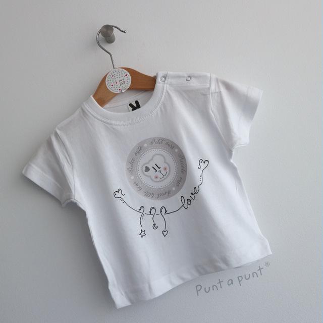 set de camiseta y ranita bebe osito punt a punt-005