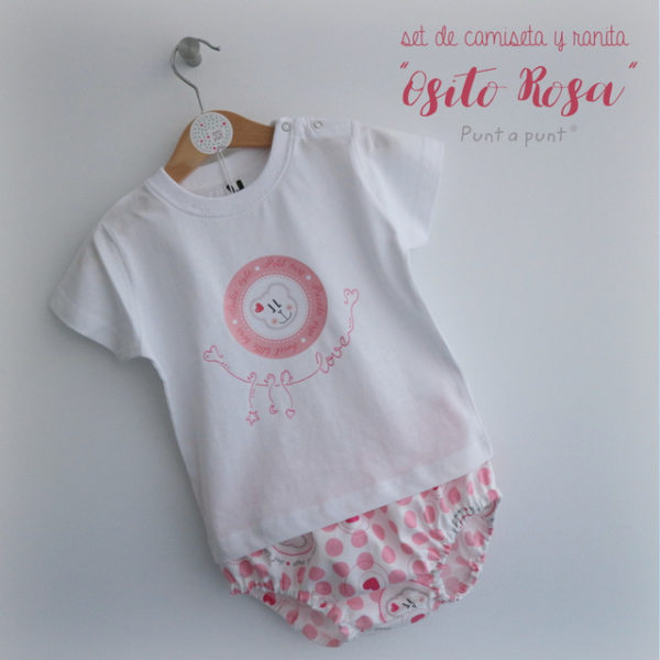 Set de camiseta y ranita «Ositos»