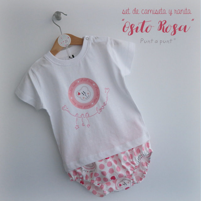 "Set de camiseta y ranita ""Ositos"""