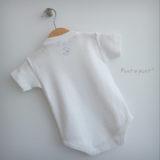 body personalizado de bebe con bandana a juego reversible punt a punt-001