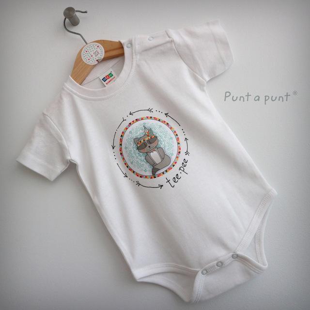 body personalizado de bebe con bandana a juego reversible punt a punt-006