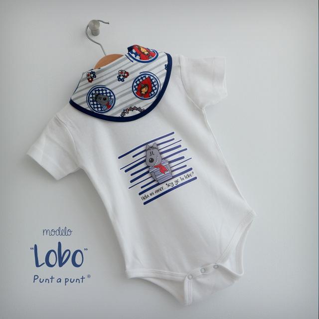 body personalizado de bebe con bandana a juego reversible punt a punt-015