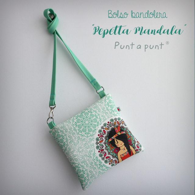 """Bolso Bandolera """"Mandala"""" – en stock"""