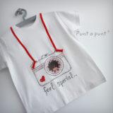 camiseta artesanal personalizada love camera punt a punt-005