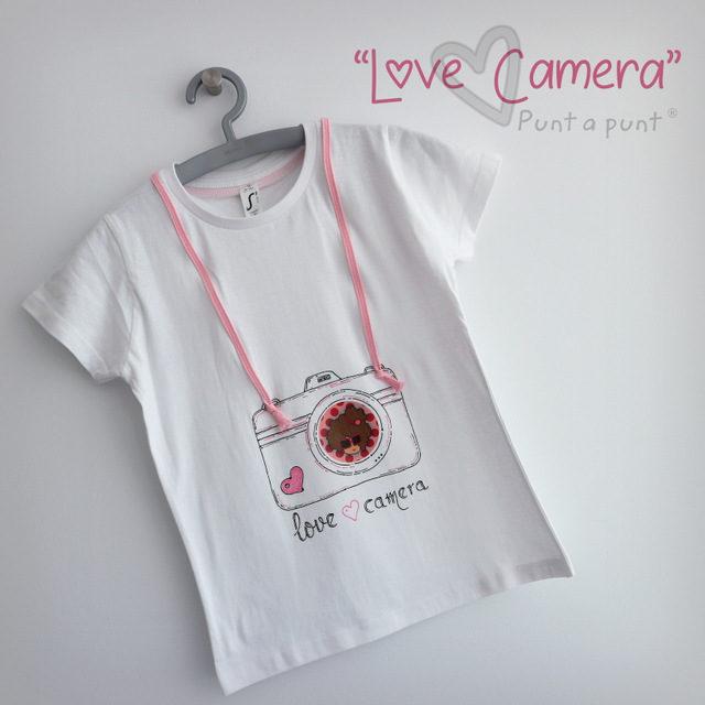 Camiseta «Love Camera»