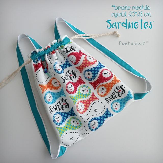 mochila infantil sardinetes en stock punt a punt-001