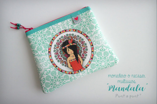 Monedero multiuso «Mandala» – en stock