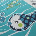 toalla playa personalizada pezquenines rosa o azul punt a punt-002