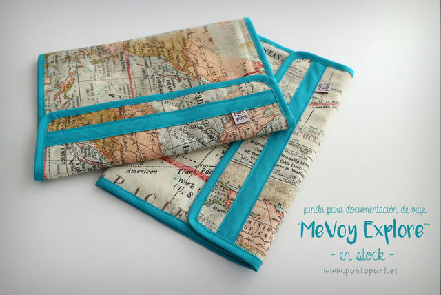 """Funda para documentación de viaje MeVoy """"Explore"""" – en stock"""