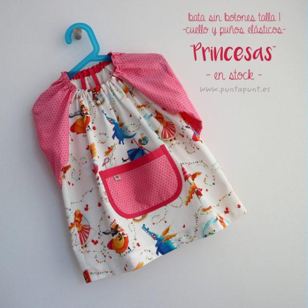 Bata escolar talla 1 «Princesas» – en stock