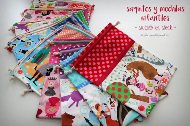Sacos y mochilas infantiles – en stock