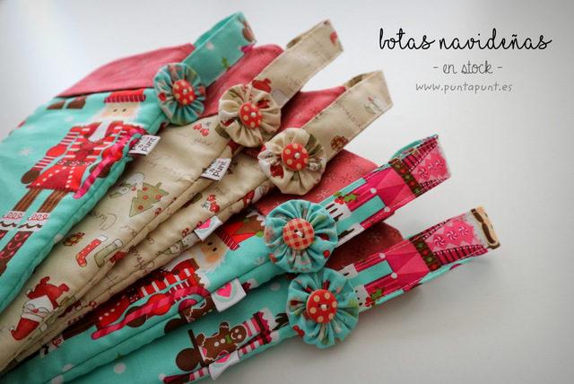 Botas navideñas surtidas – en stock