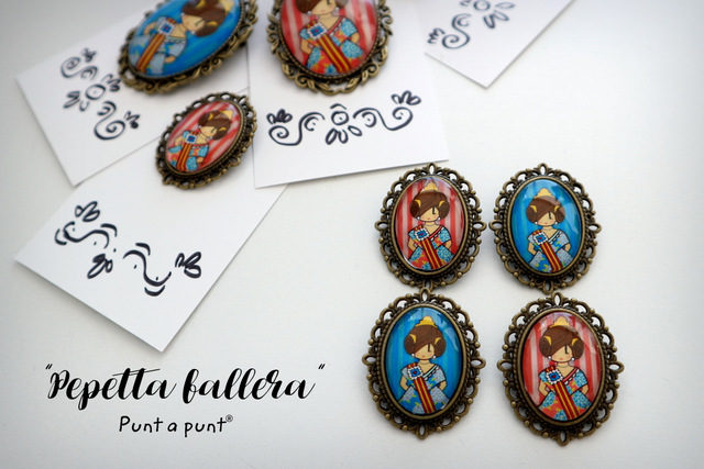 Broches Pepetta Fallera – en stock