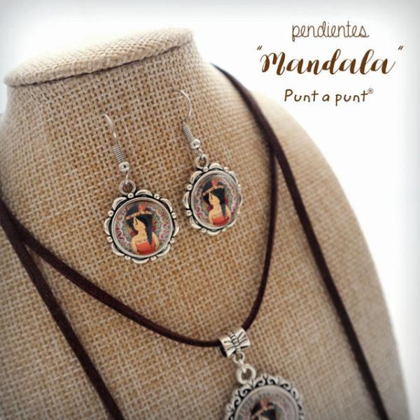 Pendientes colección «Mandala» – en stock