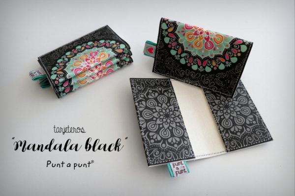 Tarjeteros «Mandala Black» – en stock