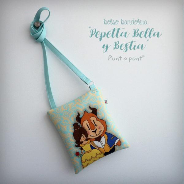 Bolso Bandolera «Pepetta Bella y Bestia» – en stock
