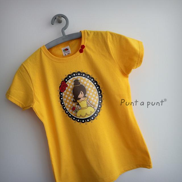 camiseta pepetta bella y bestia punt a punt-001
