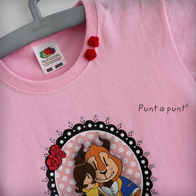 camiseta pepetta bella y bestia punt a punt-005