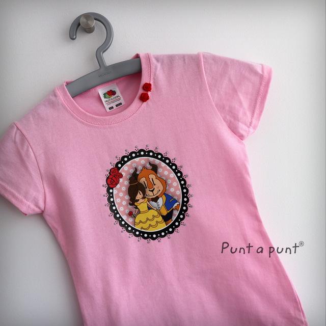 camiseta pepetta bella y bestia punt a punt-007