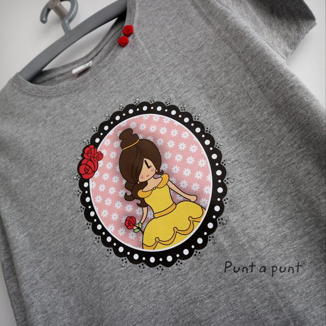 camiseta pepetta bella y bestia punt a punt-013