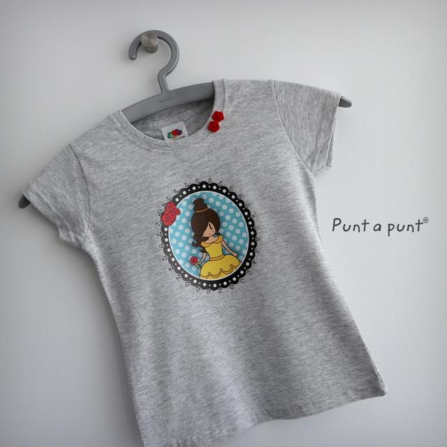 camiseta pepetta bella y bestia punt a punt-014