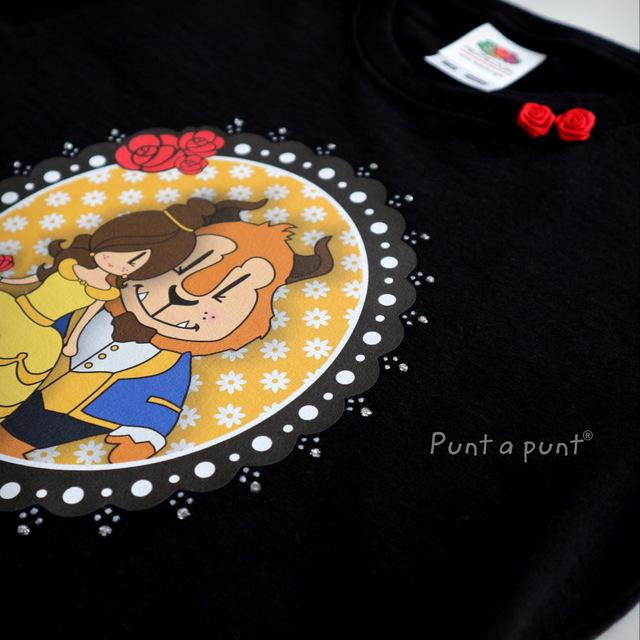 camiseta pepetta bella y bestia punt a punt-018