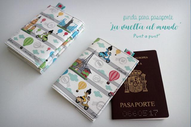 Fundas para pasaporte «La vuelta al Mundo»