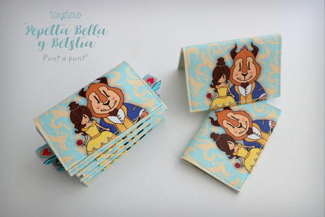Tarjeteros «Pepetta Bella y Bestia» – en stock