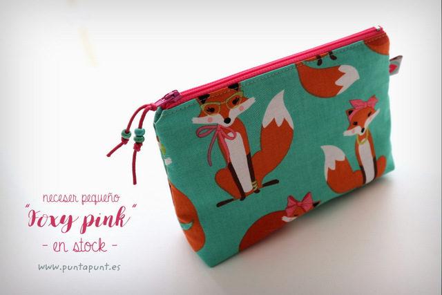 Neceser pequeño «Foxy pink» – en stock