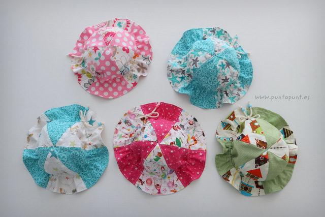 Gorro de algodón para bebé – en stock