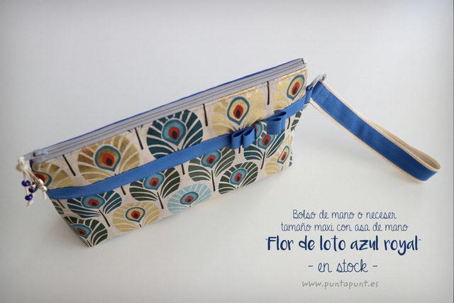 Bolsos de mano o neceseres «Flor de loto» – en stock