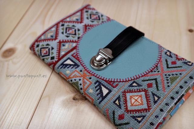 cartera para mujer etnic turquesa en stock punt a punt-001