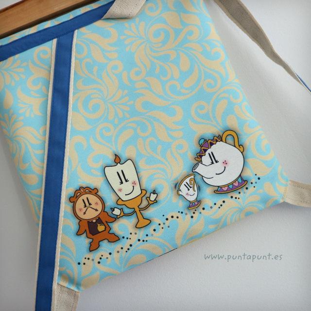 mochila infantil pepetta bella y bestia punt a punt-002