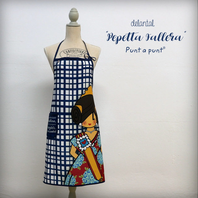 Delantal fallero «Pepetta Fallera» – Punt a punt®