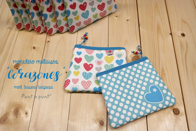 Monedero multiuso «Corazones» – en stock