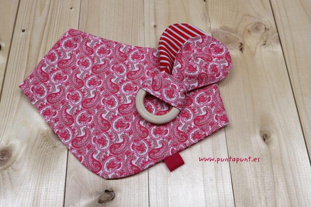 Set de 3 piezas para bebé «Cachemir rojo» – en stock