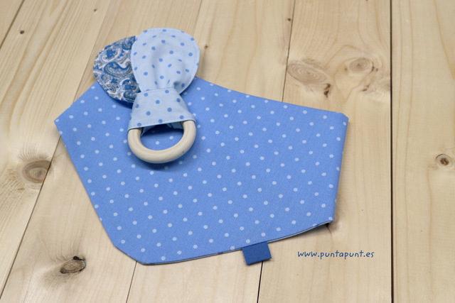 Set de 3 piezas para bebé «Cachemir azul» – en stock