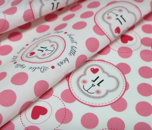 detalle textil sito rosa punt a punt