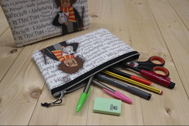 Estuche para lápices «Pepet Potter»