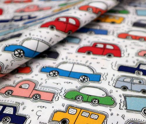 coches de colores detalle