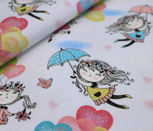paraguas y globos detalle